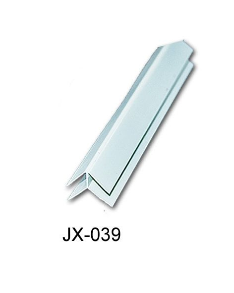 External Corner Smooth Rigid PVC Profiles Laminated Weather Resistant