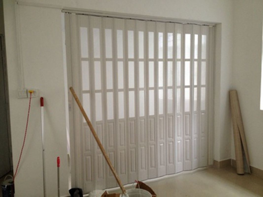 Custom Accordion Folding Doors Interior With Hard - Joint Connection dostawca