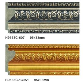 Chiny Durable PS Frame Moulding Plastic Baseboard Trim Skirting Board Profiles dystrybutor