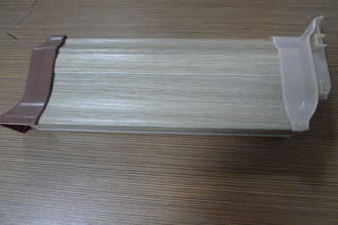 Chiny High Impact Resistant PVC Laminate Flooring Skirting Board 500G / M Anti - Insect dystrybutor